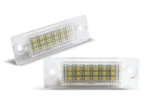 LED плафони за регистрационен номер за VW Touran/Jetta/Passat/Caddy/Golf/Transporter/Skoda Superb image